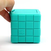 2016 promotion quality magic cube wireless bluetooth speaker unique computer accessories