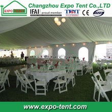 Outdoor lawn marquee wedding party tent/tenda