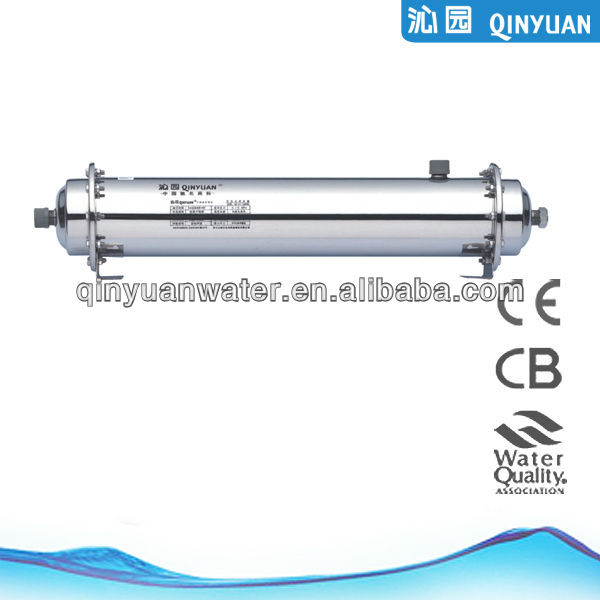 Ultrafiltration/UF membrane system pipeline water purifier QG-U1-1000B mineral water plant