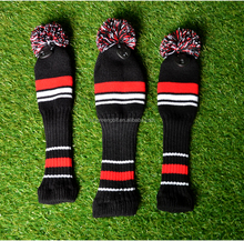 Lovely Knit Golf Putter cover in golf cover