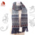 2014 Fashion Warm Acrylic Knitted Jacquard Scarf for Lady