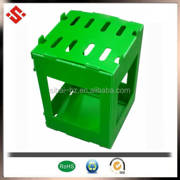 Hot sales nontoxic Eco-Friendly pp corrugated plastic vegetable box