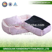 China Aimigou cheap pet bed for dogs & wrought iron pet bed & dog house with balcony
