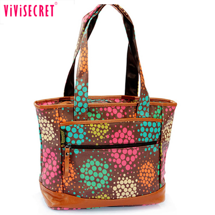 Hot sell women floral designer women handbags famous summer wholesale used handbags