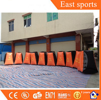 Customized bunkers paintball inflatable bunker with factory supplier