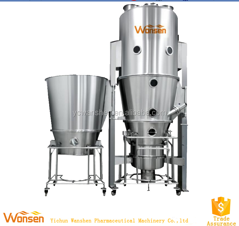 Multifunctional fluid bed dryer/granulator/coating (DPL)