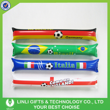 Hot Selling 60*10cm Inflatable Clapper Stick, Logo Printing Inflatable Party Decoration