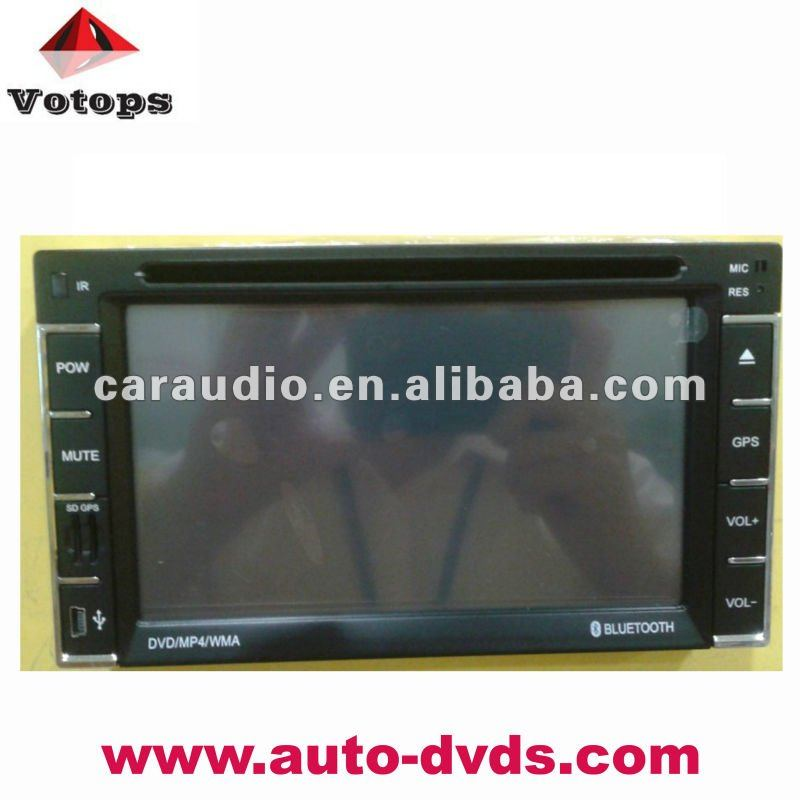 touch screen music player with ipod/ bluetooth/ dvd car multimedia navigation system