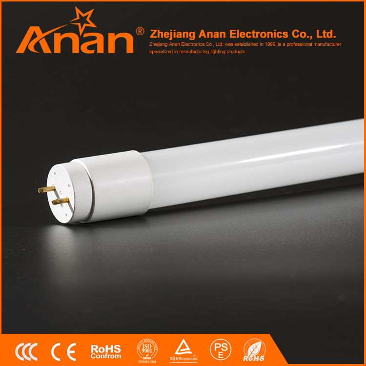 Factory direct sale white led fluorescent lamp,plastic cover light fluorescent,led fluorescent tube light