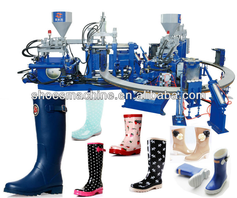 Rain Boot Making Machine Plastic Long Boots Making Machine