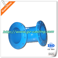small-diameter flanged pipe elbow