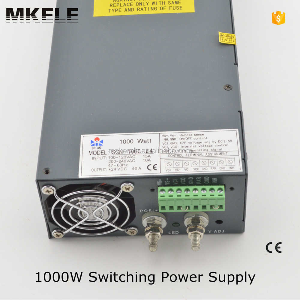SCN-1000-15 0-15v dc power supply ac-dc1000w single output switching power supply 1000w power supply pfc