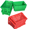 Top quality resuability plastic crate with comfortable handles