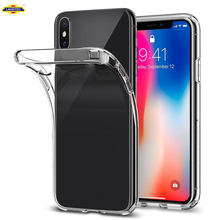 Simple style TPU Phone Case for iPhone X
