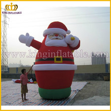 Lowes Outdoor Yard Decoration Inflatable Xmas Father Christmas