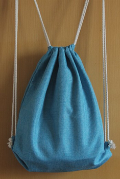 New Durable Custom Cotton Jute Drawstring Shoe Bag For Promotion
