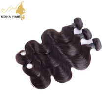 100% real human hair cambodian body wave factory price sale doubel weft thick end accept custom made ponytail
