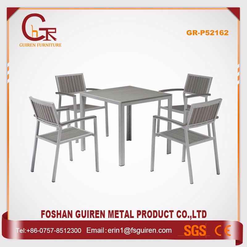 Hot Selling Customizable polywood garden oasis patio furniture
