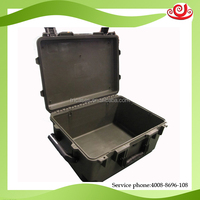 factory production protective case waterproof plastic case with wheels