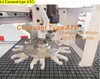 Automatic Auto tool changer Wood cnc router with servo motor and vacuum table