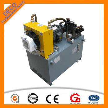 Oil Driven With Electric Motor Single Acting Hydraulic