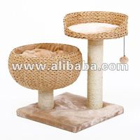 Cat PetPal cat furniture with two nesting area and scratch post