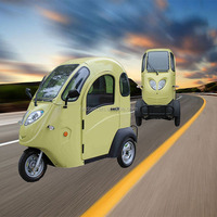 Enclosed mini 3 wheel electric tricycle for adult