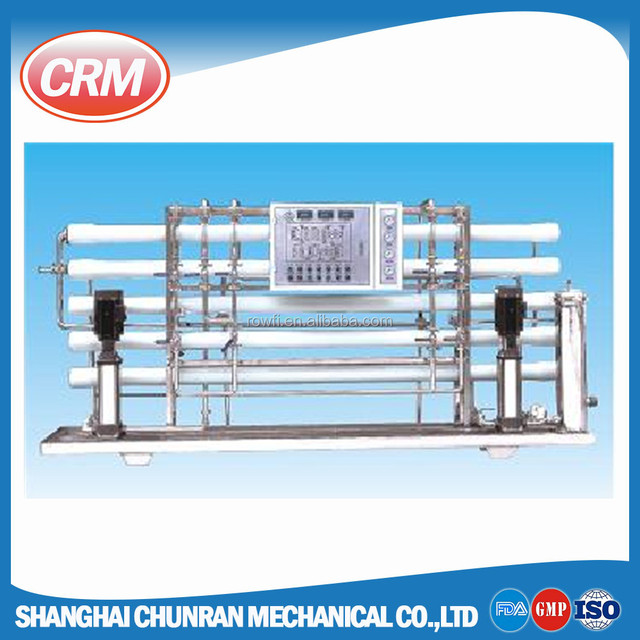 ISO certified ro water plant system for pharmaceutical / cosmetic / chemical / beverage production