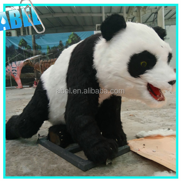 Kids Attraction Realistic Decorative Life Size Plastic Animal