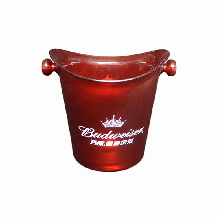 Top Quality Outdoor Stackable plastic ice buckets wholesale