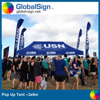 10'x15' outdoor advertising instant canopy tents