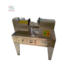 100kg ultrasonic tubes sealing machine / plastic cylinder-shaped hose sealer with printing