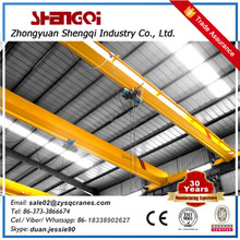 Easy operated single girder bridge travelling overhead small eot crane 13 ton