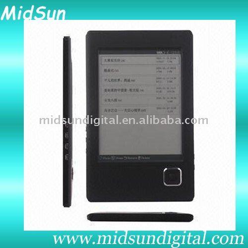 low price ebook reader,wifi,3G,e-ink,TF Card slot,fm,touch screen,spiral notebook,mid tablet pc,notebook,ebook,TFT