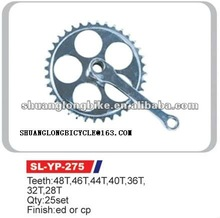 cheap steel 48 teeth bicycle chainwheel crank for sale
