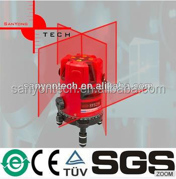 SY528 Hand held cross multi laser 5 line rotary level device prices