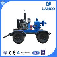 Factory Produce Self Priming Irrigation Diesel Non Clogging Sump Pump