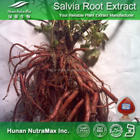 Hot sale Plant extract Red sage root extract/Danshen root extract/Salvianolic acid powder