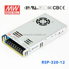 RSP-320-12 PFC 1U LOW High performance Efficiency AC-DC SINGLE MEANWELL 300W 12V SWITCHING POWER SUPPLY