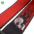 Red skull head polyester guitar strap customized logo