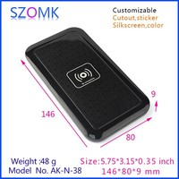 146x80x9mm plastic electronics housing for mobile phone
