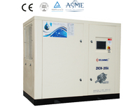 Low Noise Oil Free Screw Type Water Lubricated Air Compressors 30kw 40HP
