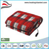 Comfortable Warmth Car Electric Heated Blanket with Cigarette Lighter Plug