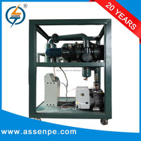 Double Stage vacuum pumping system machine,online drying transformer and vacuum oiling