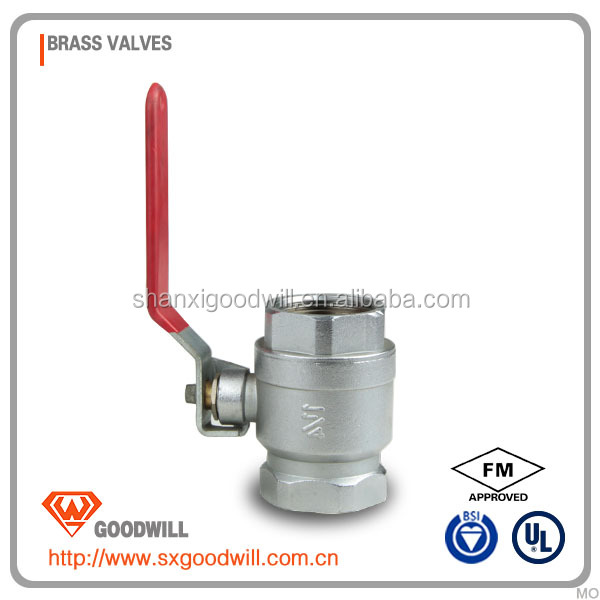 brass float valve with ball