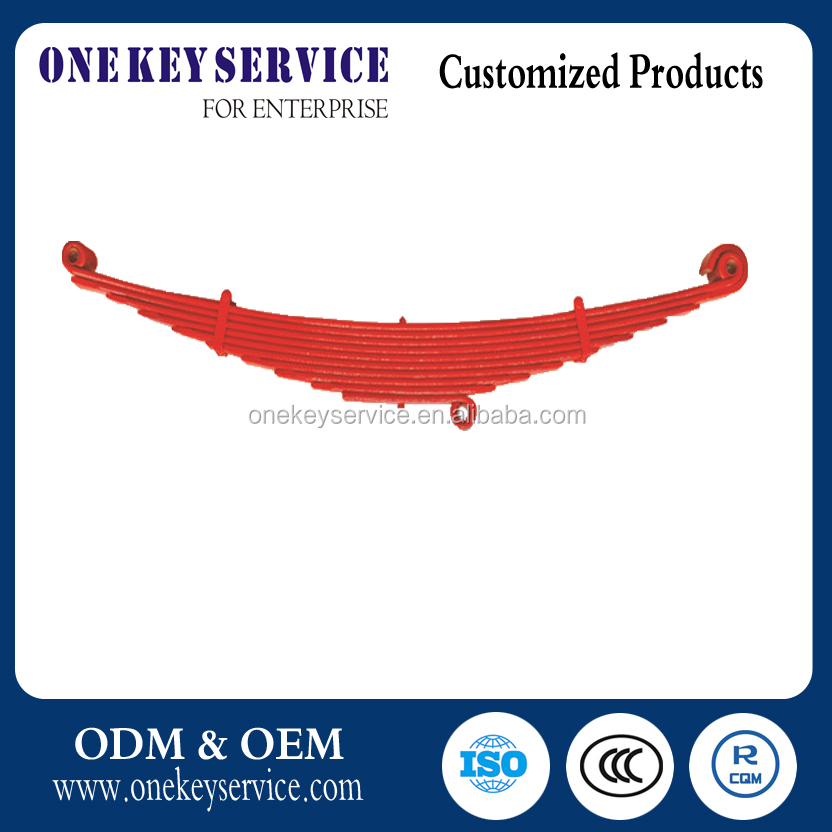 Toyota strengthened steel Front leaf spring