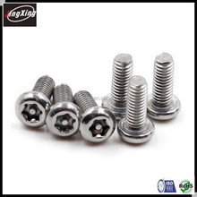 M6 M8 six lobe torx recess security screw bolt