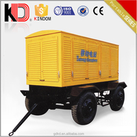 Promotional approaching!!5% off !50kVA to250kVA Mobile / Trailer Diesel Generator power electrical plant by Cummins engine