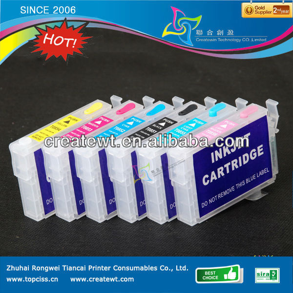 ink cartridge refill for epson T50