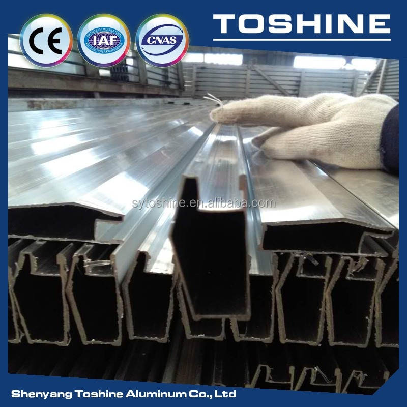 aluminium profile with powder spraying